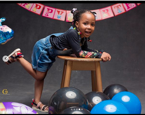 KOKO Junior: Ahmed Musa's Daughter Is Super Cute As She Turns 3 3