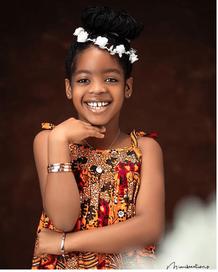 KOKO Junior: Basketmouth's Daughter, Janelle Is Such An Angel As She Clocks 8 3