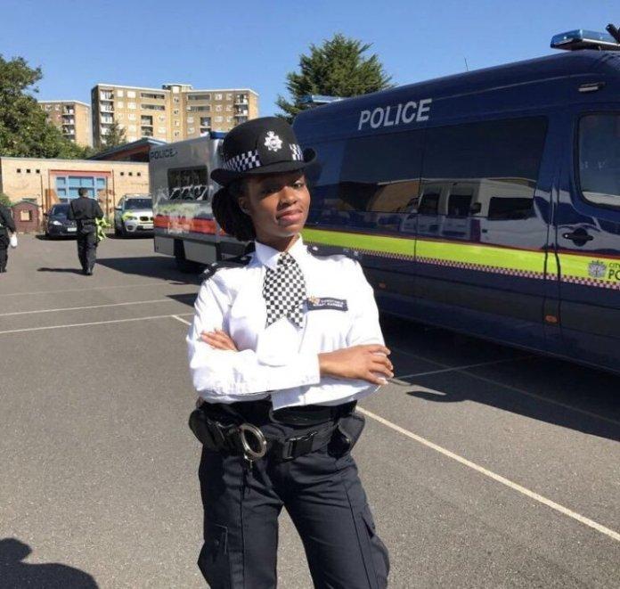 Image result for BBNaija Housemate Khafi declared AWOL by Scotland Yard