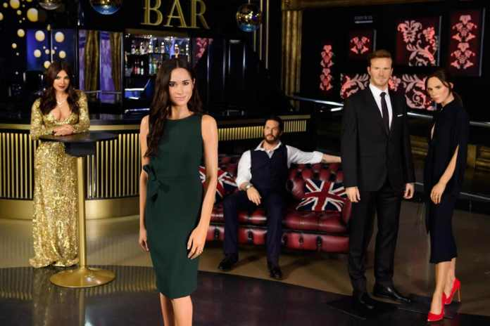 Royalty And Celebs! Madame Tussauds Splits Up Prince Harry and Meghan Markle Waxworks 3