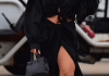 Radiant Riri! Rihanna Is Radiance Itself In All Black Ensemble