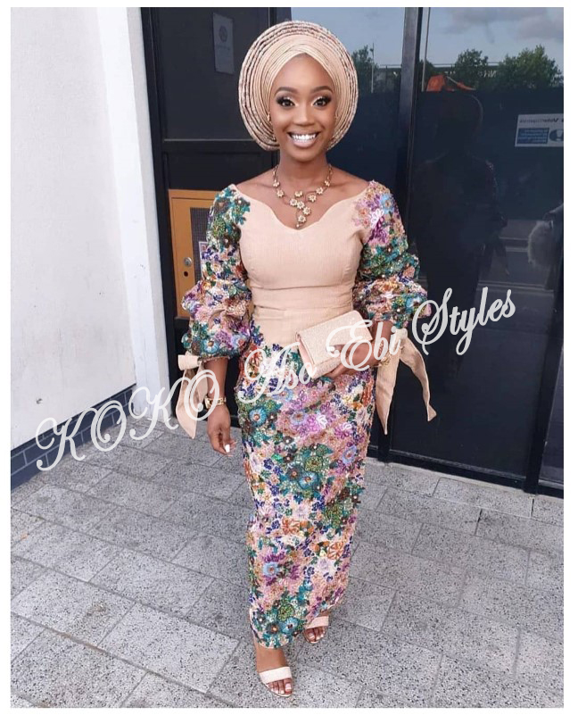 Aso-ebi: Channel Your Inner Diva In These 5 Glamorous Designs 2