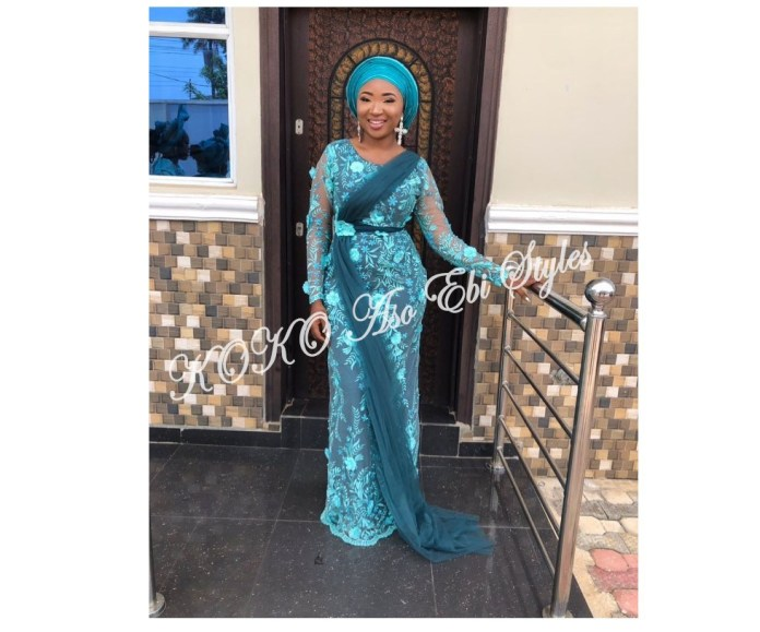 Aso-Ebi Styles: Package Your Beauty With These Adorable Styles