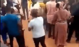 ikorodu residents boo sars officials today kokotv.ng