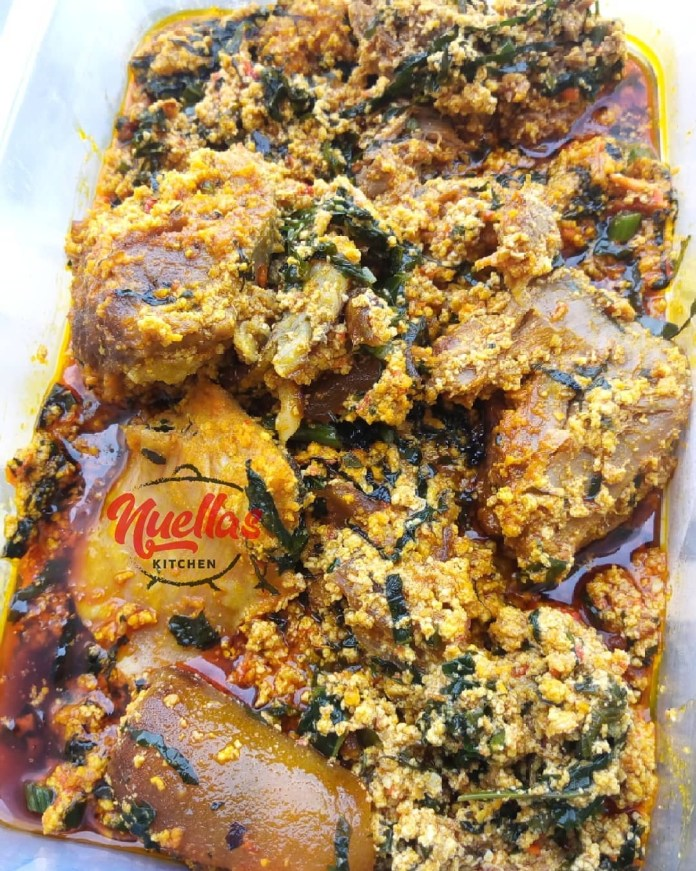 FOOD: Get Your Taste Buds Buzzing With This Special Egusi Soup Recipe