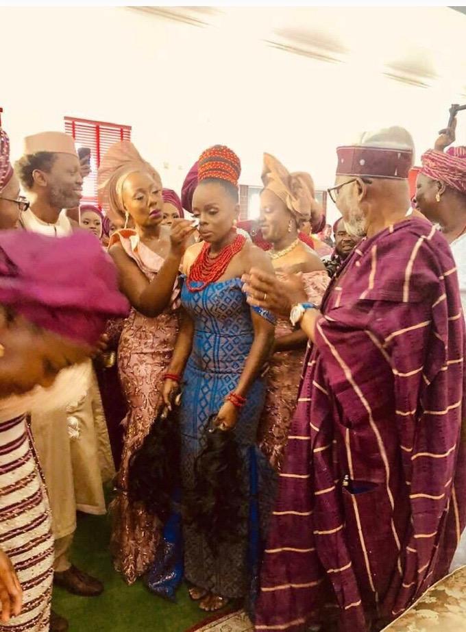The Insider: Beautiful Photos From Governor Rotimi Akeredolu's Daughter's Wedding 5