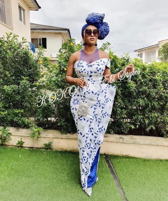 Channel Your Inner Gorg In These 5 Extra Stunning Aso-ebi Styles 1