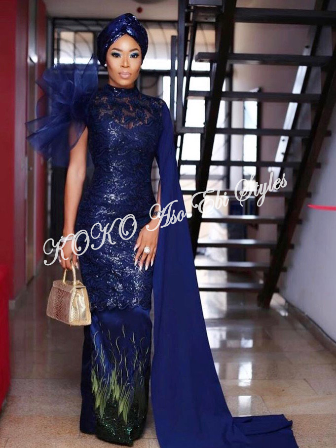 Channel Your Inner Gorg In These 5 Extra Stunning Aso-ebi Styles 2