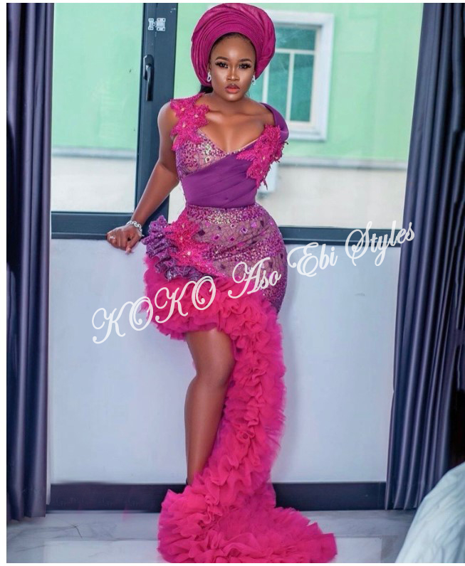 From BamTeddy With Love! 10 Hot Aso-ebi Styles From Bambam & Teddy A's Introduction 3