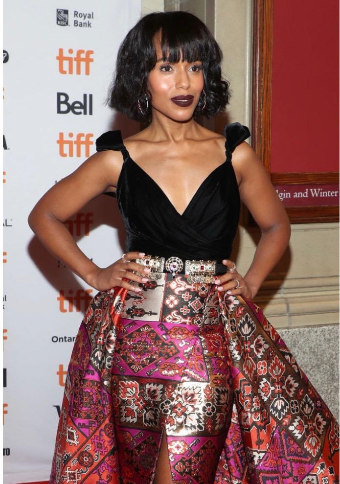 Kerry Washington Is A Stunning Delight In Zuhair Murad As She Attends Toronto International Film Festival 6