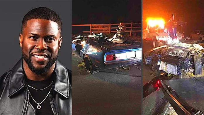Thank Goodness! Doctors Says Kevin Hart Didn't Suffer Any Spinal Cord Damage