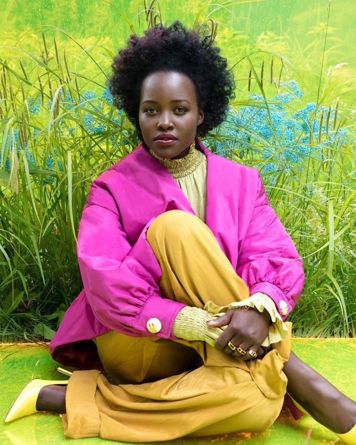 Lupita Nyong'o Rocks Natural Hair As She Covers Vanity Fair