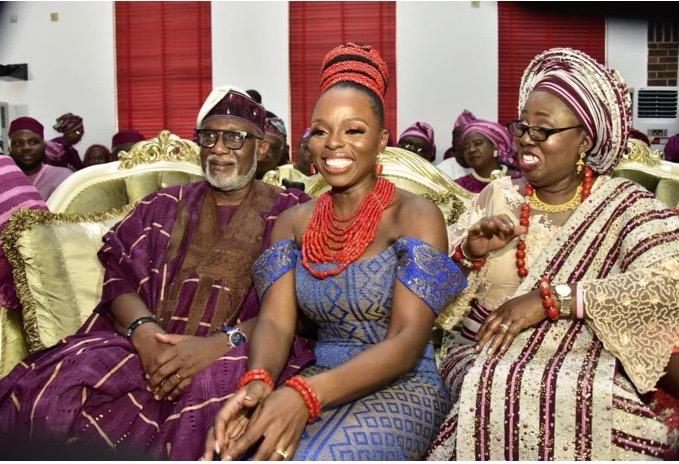 The Insider: Beautiful Photos From Governor Rotimi Akeredolu's Daughter's Wedding 2
