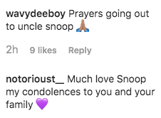 Snoop Dogg Loses 10-Day-Old Grandson