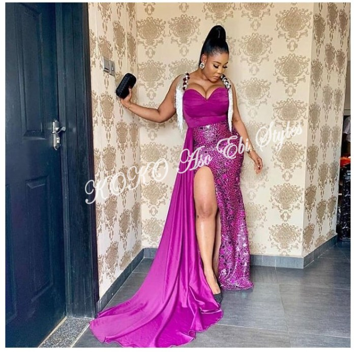 From BamTeddy With Love! 10 Hot Aso-ebi Styles From Bambam & Teddy A's Introduction 6