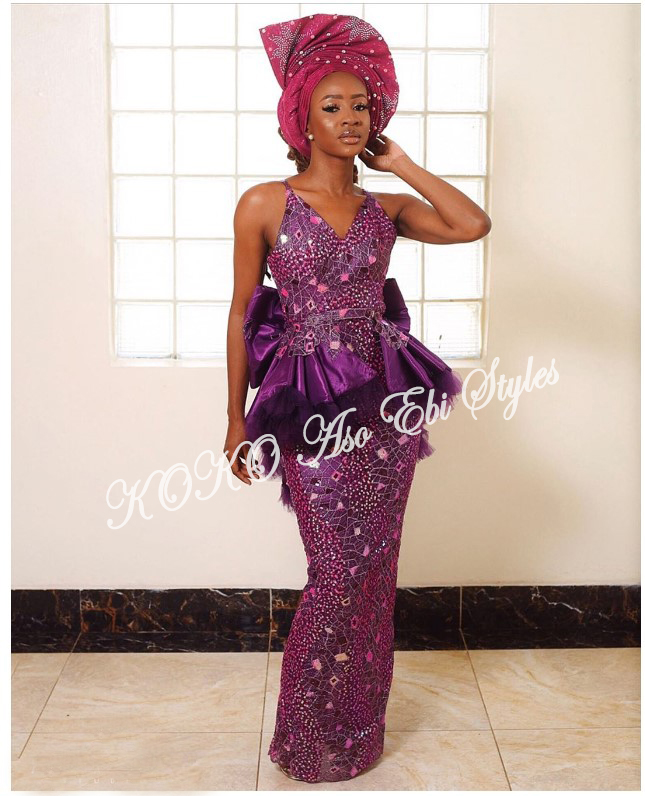 From BamTeddy With Love! 10 Hot Aso-ebi Styles From Bambam & Teddy A's Introduction 8