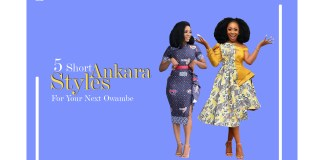 5 Gorgeous Short Ankara Styles For Your Next Owambe