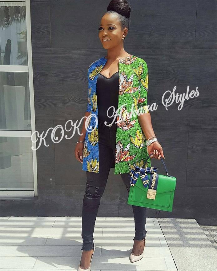 8 Stylish Ways To Rock An Ankara Kimono Jacket 4