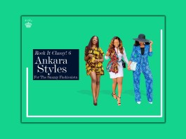 Rock It Classy! 6 Ankara Styles For The Snazzy Fashionista