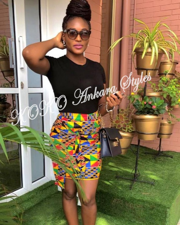 Never Been Better! 5 Chic And Hawt Ankara Skirts Every Lady Must Rock