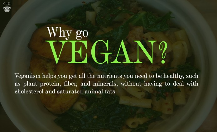 FOOD: 5 Health Benefits of Going Vegan