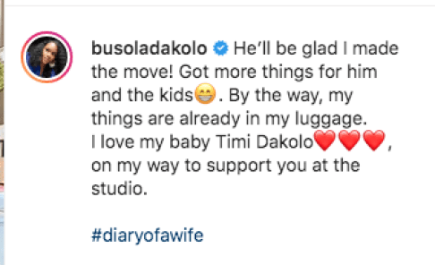 """Madam! """"We Have Children O"""", Timi Dakolo Reacts As His Wife Busola Shops With His Debit Card"""