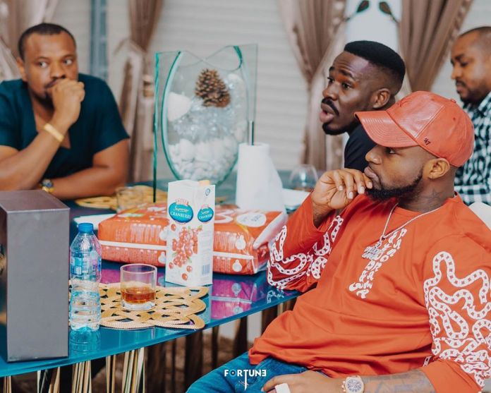 O-OBO: Davido's Unborn Child Gets Endorsement Deal