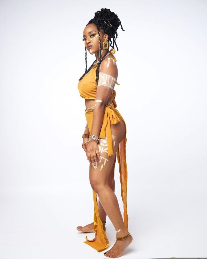 Nigerian Feminist Maj Goes Topless In Raunchy Photos For New Video