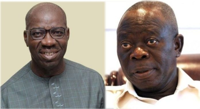 We Can't Bend Rules For Obaseki - Oshiomole