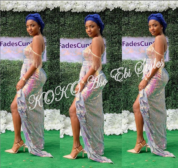 5 Celebrities That Gave Us Fab And Lit Aso-Ebi Style Over The Weekend 1