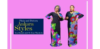 Plain and Pattern Ankara Styles You Should Add To Your Wardrobe