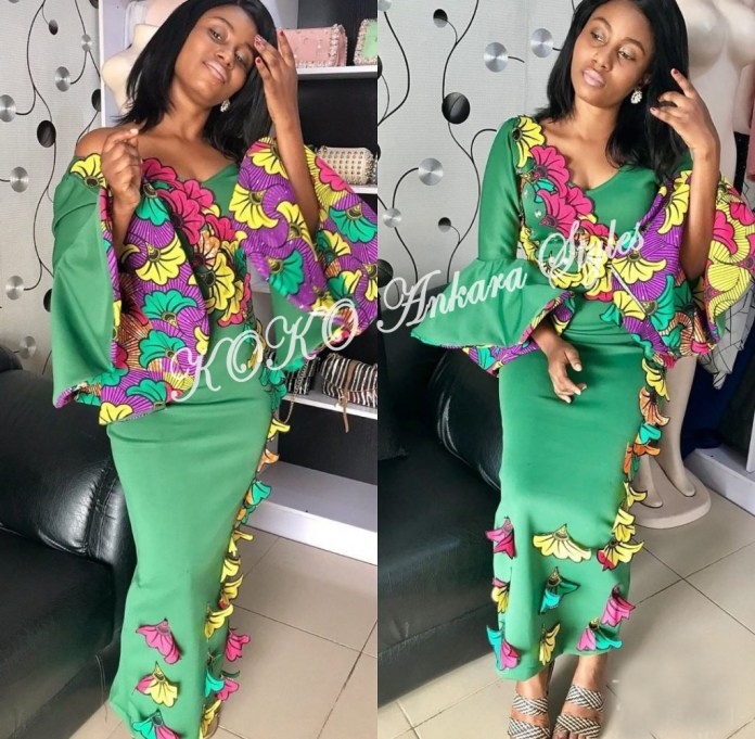 Plain and Pattern Ankara Styles You Should Add To Your Wardrobe 1