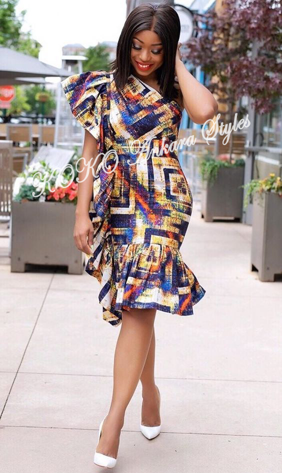 From Gowns To Jumpsuits: Lovely Ankara Styles For The Sisi Oge 3