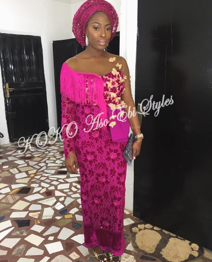 Make Bespoke Aso Ebi Styles Statement With The Powers Of The Skin Lace