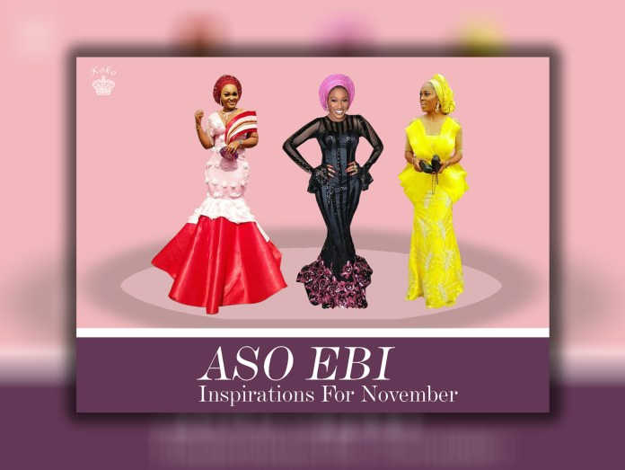 Aso Ebi Styles Inspirations For Your Owambes In November
