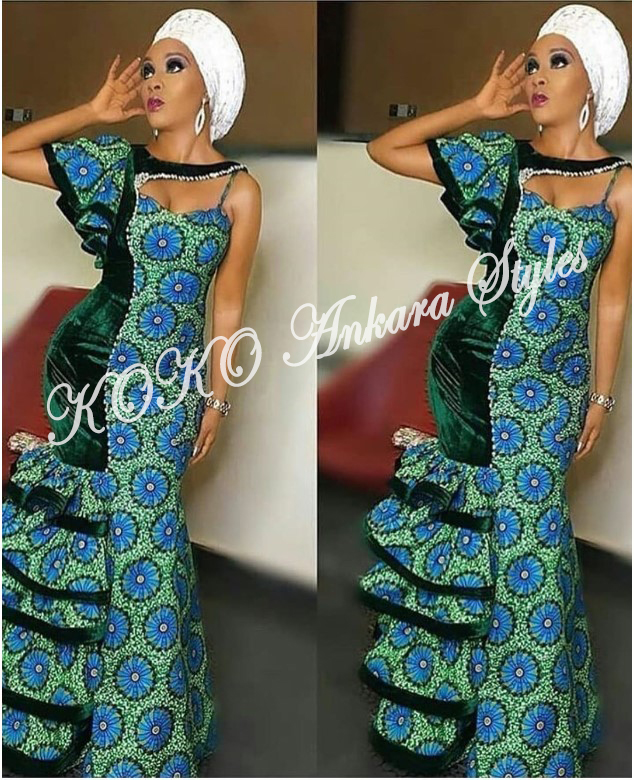 Eccentric Ankara Styles That Will Have Your Onlookers Go Awwn! 3
