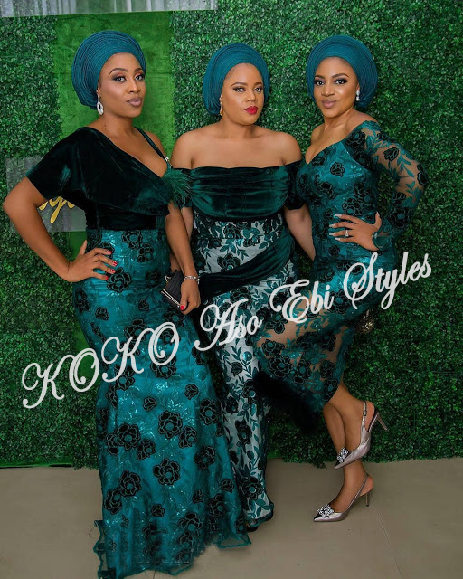 Pack On All Of The Glamour In These Bespoke Aso Ebi Styles 1