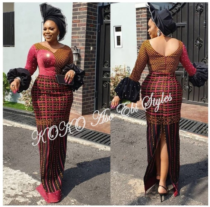 Pack On All Of The Glamour In These Bespoke Aso Ebi Styles 3