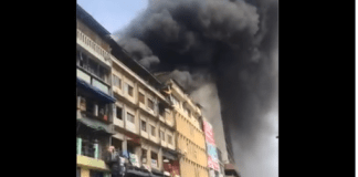 Lagos State Demolishes Remains Of The Burnt Balogun Market