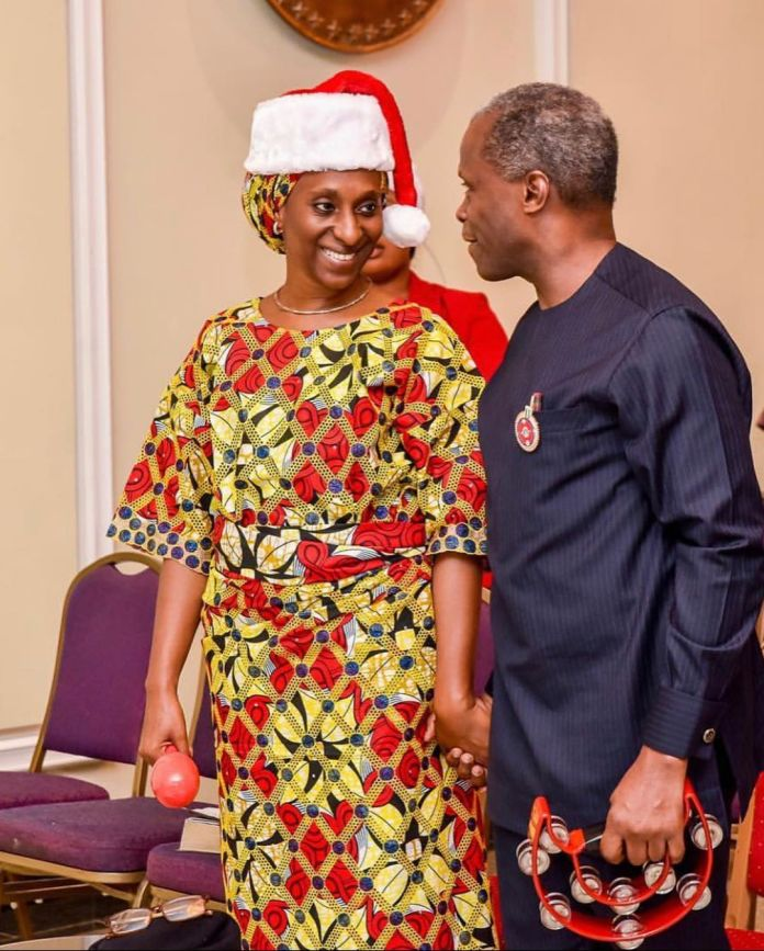 Hand In Hand: Dolapo Osinbajo Celebrates Their 30th Year Together