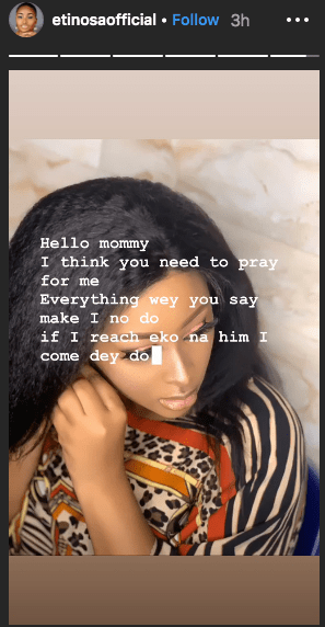 Keep My Name From Your Mouth - Etinosa Tells Her Haters 1