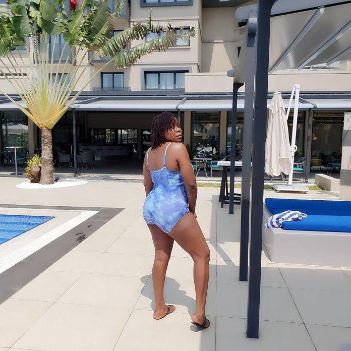 Omawunmi Sends Social Media Into Frenzy Mode In Swimsuit Snaps