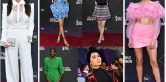 People's Choice Awards: Best Dressed Stars On The Red Car