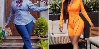 """Please Marry My Rich But Stingy Dad"", Tonto Dikeh Begs Toke Makinwa"