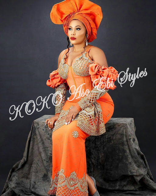 Channel Your Inner Beauty In These Beautiful Aso Ebi Styles 4