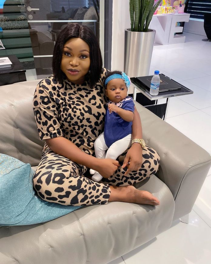 KOKO Junior: Ruth Kadiri Ezerika's Daughter Rocks 3 Months