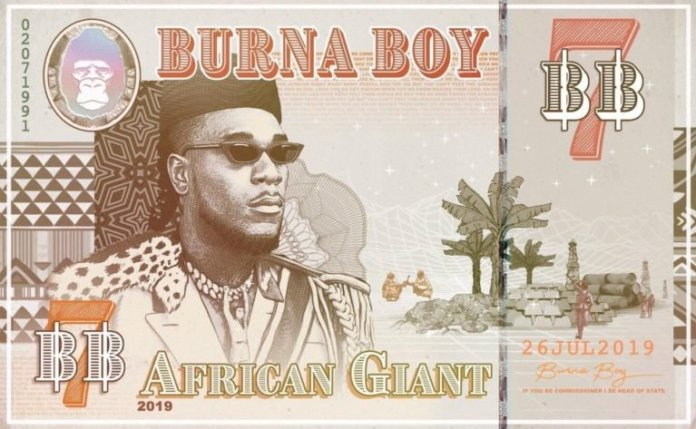 African Giant Burna Boy KOKO TV NG 3