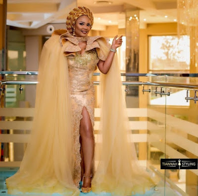 Iyabo Ojo's Aso-Ebi Game Is Gorgeous And Lit 🔥🔥🔥 1