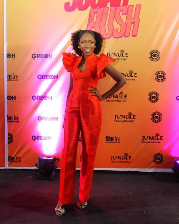 Kemi Lala Akindoju At Sugar Rush Premiere KOKO TV NG 1