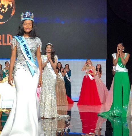 Nyekachi Douglas: Miss Nigeria's Reaction To Tony-Ann Singh Winning Miss World 2019 Is Friends Goals 1